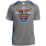 2019 AHL All Star Classic Primary Logo Adult Heather Colorblock Poly T-Shirt