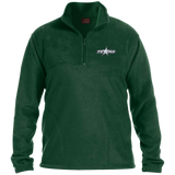 Texas Stars Embroidered 1/4 Zip Fleece Pullover