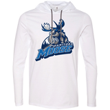 Manitoba Moose Primary Logo Adult Long Sleeve T-Shirt Hoodie