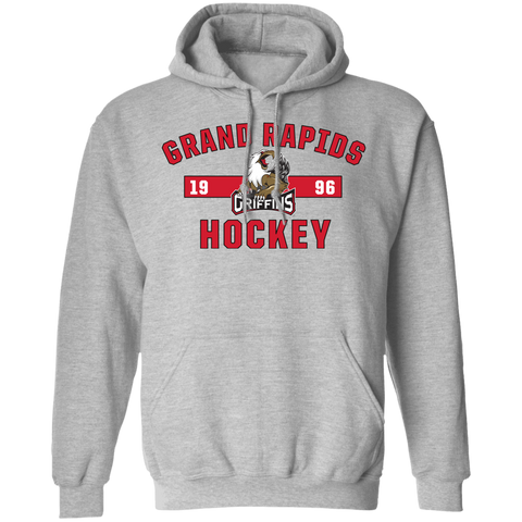 Grand Rapids Griffins Adult Established Pullover Hoodie