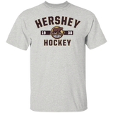 Hershey Bears Adult Established Short Sleeve Cotton T-Shirt