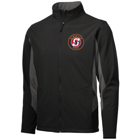 Stockton Heat Colorblock Soft Shell Jacket