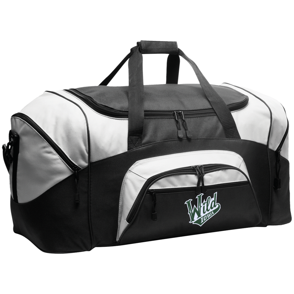 Iowa Wild Colorblock Sport Duffel
