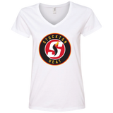 Stockon Heat Ladies' V-Neck Tee