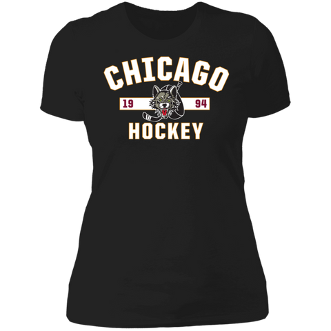 Chicago Wolves Ladies' Established Next Level Short Sleeve T-Shirt