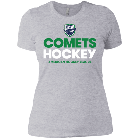 Utica Comets Hockey Next Level Ladies' T-Shirt