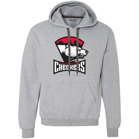Charlotte Checkers Adult Heavyweight Pullover Hoodie