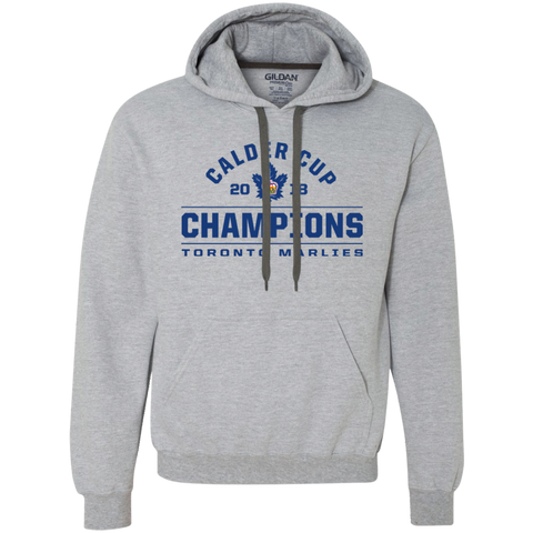 Toronto Marlies 2018 Calder Cup Champions Adult Arch Heavyweight Pullover Fleece Sweatshirt