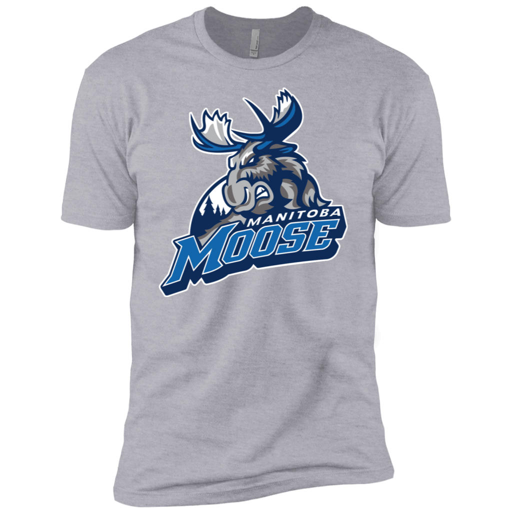 Manitoba Moose Primary Logo Next Level Premium Short Sleeve T-Shirt