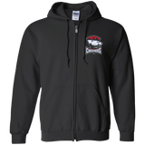 Charlotte Checkers Adult Embroidered Zip Up Hoodie