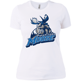 Manitoba Moose Primary Logo Next Level Ladies' Short Sleeve T-Shirt