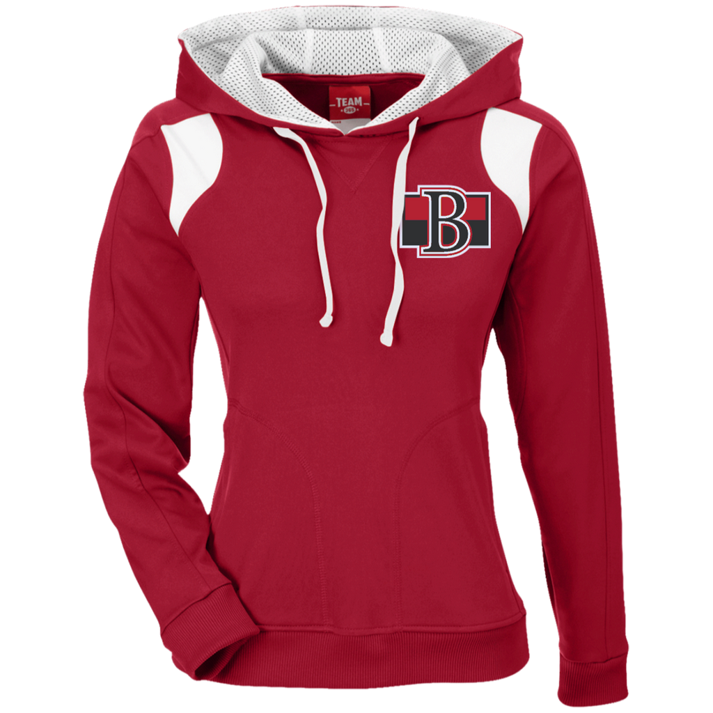 Belleville Senators Team 365 Ladies' Colorblock Poly Hoodie