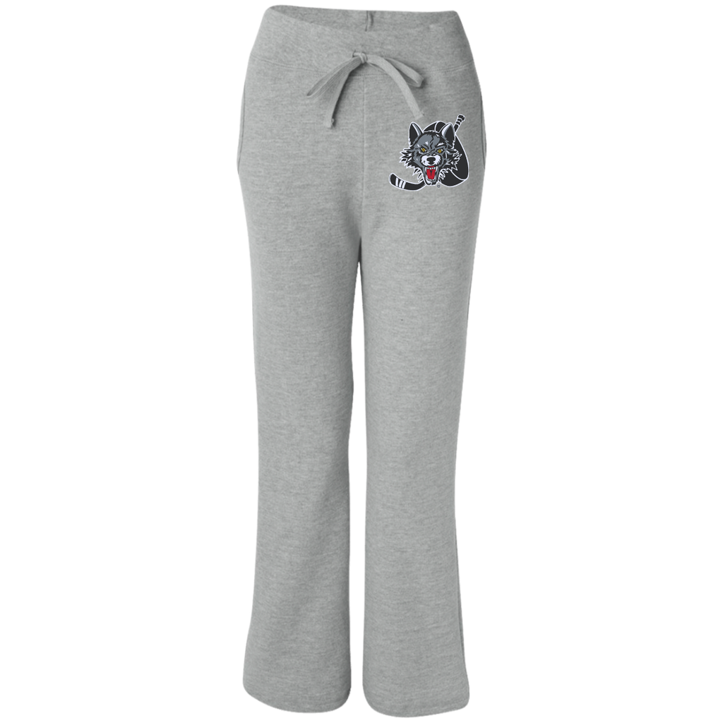 Chicago Wolves Women's Open Bottom Sweatpants with Pockets
