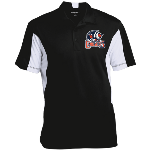 Bakersfield Condors Men's Colorblock Performance Polo