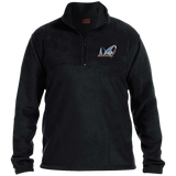 San Jose Barracuda Embroidered 1/4 Zip Fleece Pullover