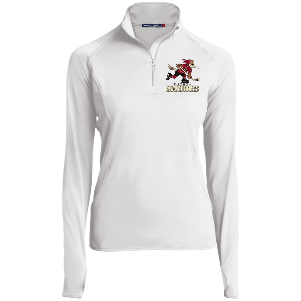 Tucson Roadrunners Women's 1/2 zip Performance Pullover