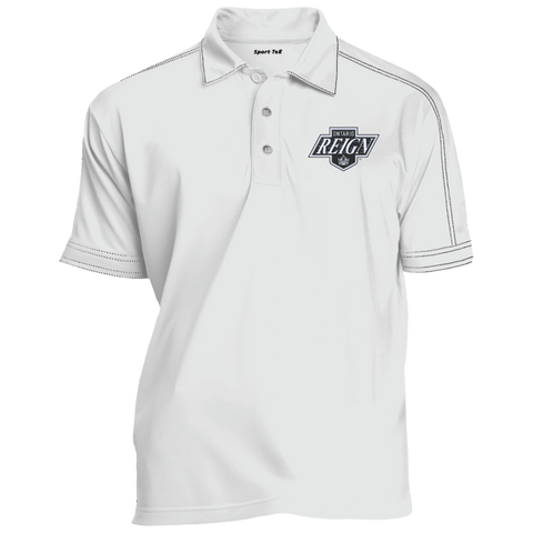 Ontario Reign Contrast Stitch Performance Polo