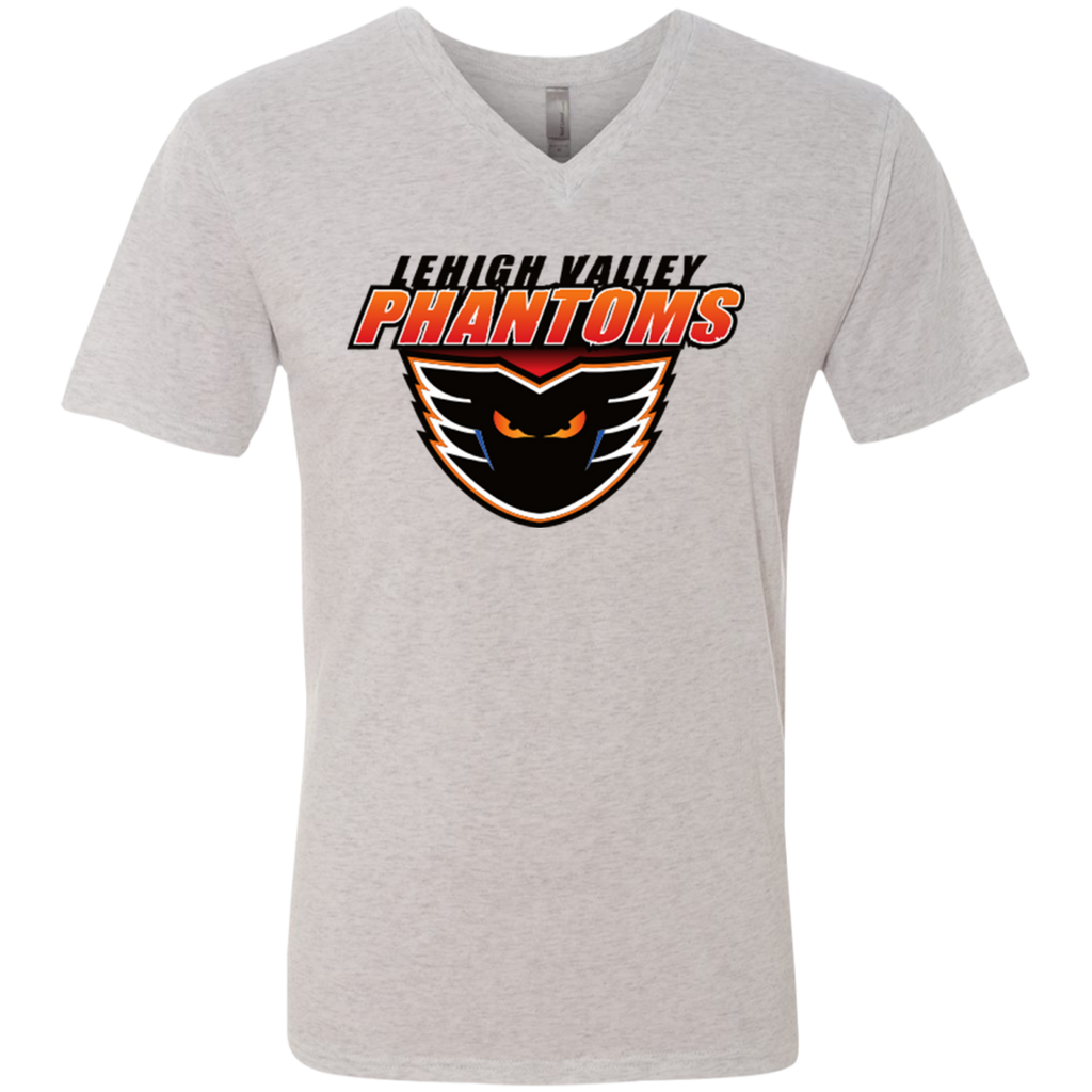 Lehigh Valley Phantoms Men's Next Level Triblend V-Neck T-Shirt
