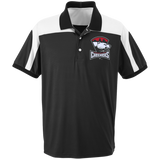 Charlotte Checkers Adult Team 365 Colorblock Polo