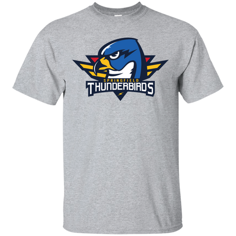 Springfield Thunderbirds Primary Logo Adult Short Sleeve T-Shirt