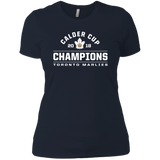 Toronto Marlies 2018 Calder Cup Champions Arch Next Level Ladies' T-Shirt