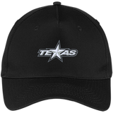 Texas Stars Five Panel Twill Cap