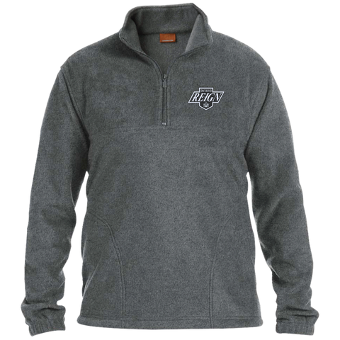 Ontario Reign Adult Embroidered 1/4 Zip Fleece Pullover