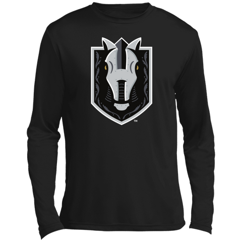 Henderson Silver Knights Adult Primary Logo Long Sleeve Moisture Absorbing T-Shirt