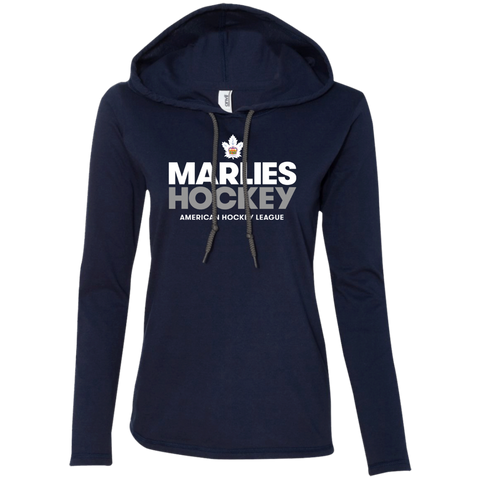 Toronto Marlies Hockey Ladies' Long Sleeve T-Shirt Hoodie