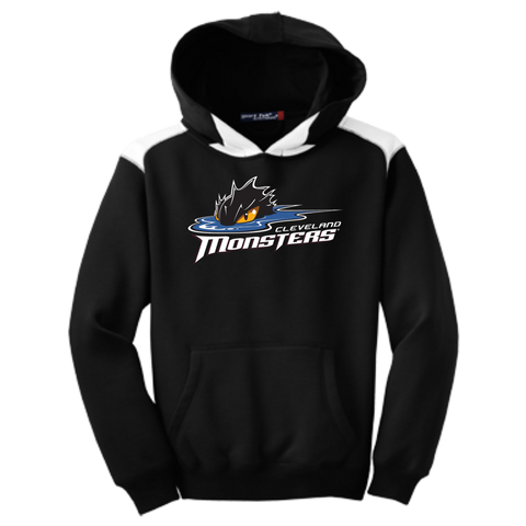 Cleveland Monsters Youth Colorblock Pullover Hoodie