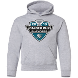San Jose Barracuda 2019 Calder Cup Playoffs Youth Pullover Hoodie