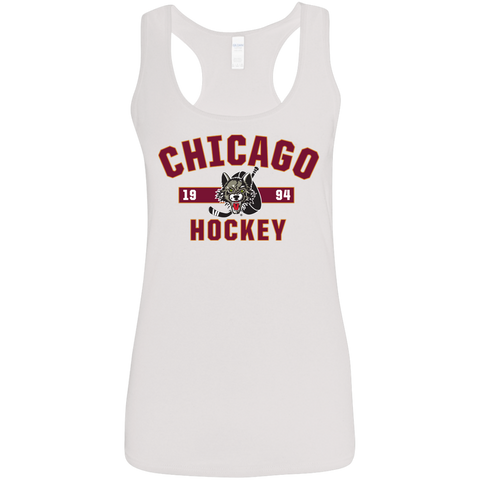 Chicago Wolves Ladies' Established Racerback Tank