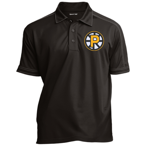 Providence Bruins Contrast Stitch Performance Polo