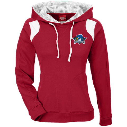 Springfield Thunerbirds Team 365 Ladies' Colorblock Poly Hoodie