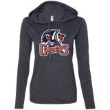 Bakersfield Condors Primary Logo Ladies' Long Sleeve T-Shirt Hoodie