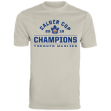 Toronto Marlies 2018 Calder Cup Champions Men's Arch Wicking T-Shirt