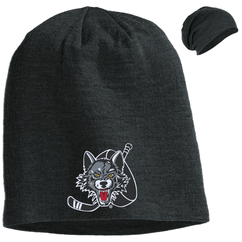 Chicago Wolves Slouch Beanie