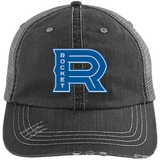 Laval Rocket Distressed Unstructured Trucker Cap