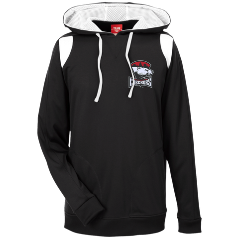 Charlotte Checkers Team 365 Colorblock Poly Hoodie