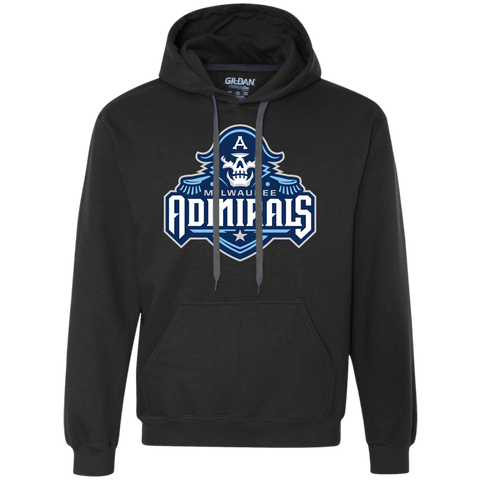 Milwaukee Admirals Primary Logo Heavyweight Pullover Fleece Sweatshirt (Sidewalk Sale)