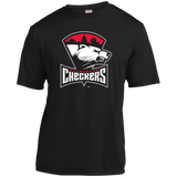 Charlotte Checkers Adult Short Sleeve Moisture-Wicking T-Shirt