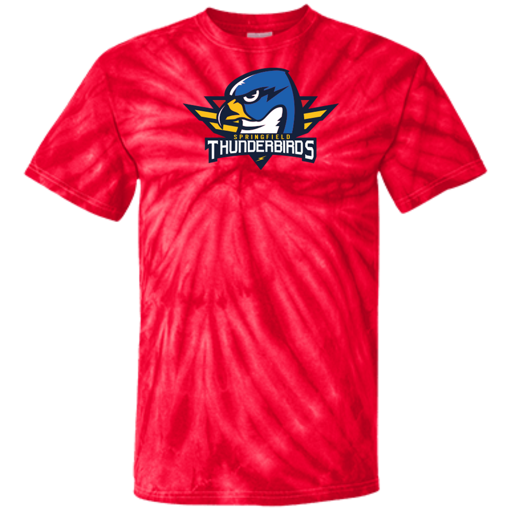 Springfield Thunderbirds Primary Logo Adult Tie Dye T-Shirt