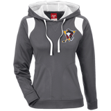 Wilkes-Barre/Scranton Penguins Team 365 Ladies' Colorblock Poly Hoodie