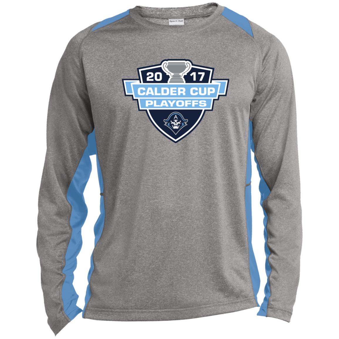 Milwaukee Admirals 2017 Calder Cup Playoffs Long Sleeve Heather