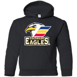 Colorado Eagles Primary Logo Youth Pullover Hoodie