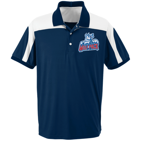 Hartford Wolf Pack Team 365 Colorblock Polo