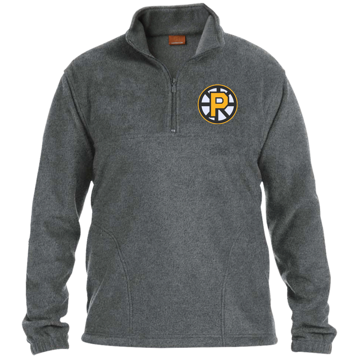 6c002c07 Providence Bruins Adult Embroidered 1/4 Zip Fleece Pullover – ahlstore.com