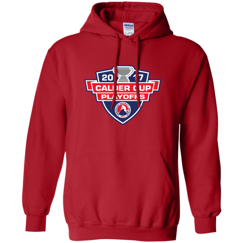 2017 Calder Cup Playoffs Adult Primary Logo Pullover Hoodie
