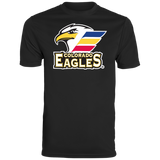 Colorado Eagles Primary Logo Youth Wicking T-Shirt