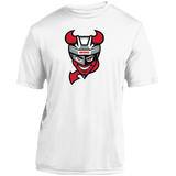 Binghamton Devils Primary Logo Youth Moisture-Wicking T-Shirt